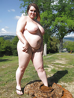 Fat naturists with huge tits - Chubby Naturists