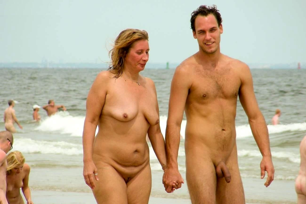 Remarkable, son naked on beach apologise, but